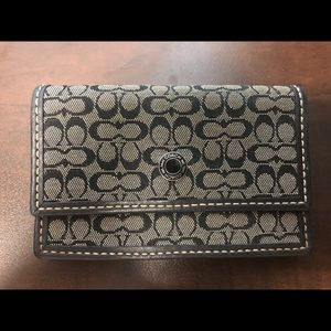 Coach credit card wallet